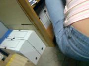 Hungarian co-worker sexy jeans