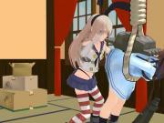 Spanking anime