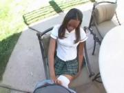 Naughty Ebony Schoolgirl