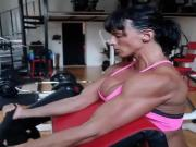 muscle woman very sexy