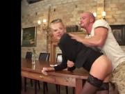 German Milf Boss Fucked Hard