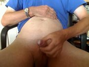 A short but sweet wank and cum