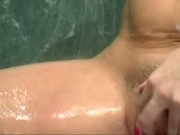 Flower gets her big white wet butt fucked by BBC
