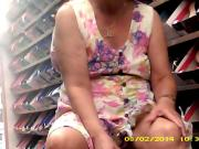 Wife at the shoe store