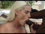 Sexy Blonde takes BBC
