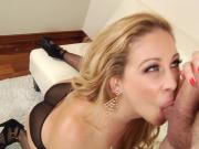 Cherie Deville getting a hard cock fucking