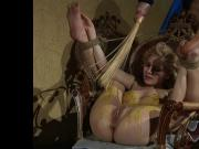 Pretty slave girl waxed and humiliated.