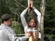 She Had No Choice - Jocoboclips.com - Outdoor Tied Fuck