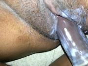 my wife's creamy pussy fucked