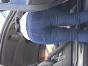 Nice thick booty milf carwash