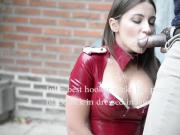 julie skyhigh love cum, best of cumshots in leather&heels