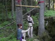 Swords and shibari