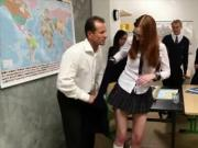 Grabbing Her Teachers Attention !