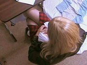 AllyCDTV in School Girl Behaving Badly