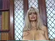 Mature busty blonde