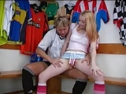 Teen fucking soccer player