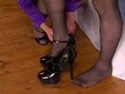 Domme Spanks Whips Strapon Tranny 