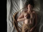 Girl masturbating -Barb-