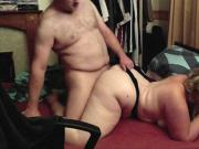 BBW Fat Fuck Fucked and Anal on Hidden Camera