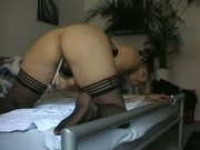 Blonde Cheating Ex Wife Anal and Creampie