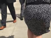 Bbw big booty pawg in dress 3