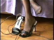 Nylon feet and shoes 7