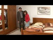 Mature housekeeper has sex with her boss