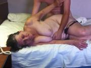 Painful anal for grandma