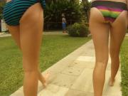 skimpy bikinis