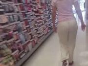 Nice round bubble butt Macedonian Walgreen's worker 2