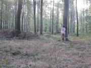 nude gay outside forest
