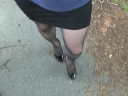 Out and about crossdress 2