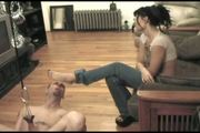 Priness Tortures cuckold slave