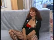 Casting Plump Redhead French Amateur Milf Anal and Cumshot