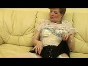 Granny in Open Hose Fingers and Toys