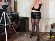Massive Boobs wife has overspent and needs to be punished