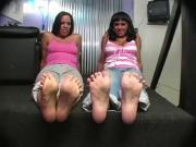 lexi lapetina-Jerk Off Foot Tease by 2 Hotties