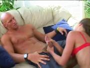 Beautiful Milf Sucks A Hard Juicy Cock
