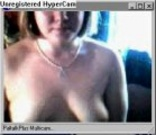 Young fattie chatting and flashing her tits