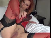 red stockings