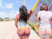 Angelina Castro and Angel Cakes - Ass Parade
