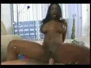 Black girl gets fucked and SQUIRTS!!!!