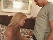 Jill Kelly banged on a bed