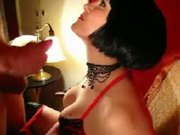 Mistress Polly rewards obedient slave