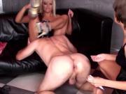 Russian amazing girld fisting male ass
