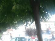 Braless street