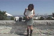 Japanese Girl Naked In Public & Sex MPD012