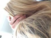 Bonne pipe par une blonde