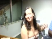 Drunk college girl on bbc