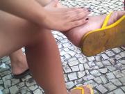 Vagabunda com os pes sujos Bitch Dirty Feet